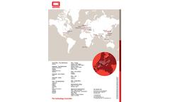 IHC - Model (TSHD) - Dredging Control System (DCS) Brochure