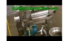 Amisy Sprial Apple Juicer Machine