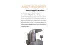 Garlic Chopping Machine Details