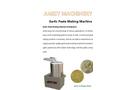 Garlic Paste Making Machine for sale