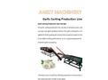Garlic Grading Sorting Machine