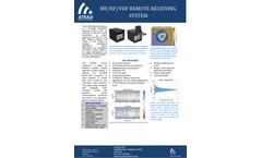 ATRAD - Model MF/HF/VHF - Remote Receiving System - Brochure