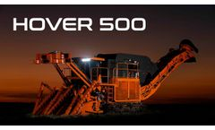 Hover 500 – Made to Conquer your Sugarcane Field - Video