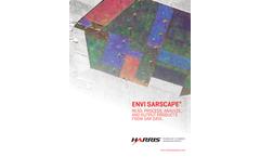 ENVI SARscape - Image Analysis Software - Brochure