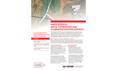 Harris - Geospatial Aerial Topographic and Planimetric Mapping Services - Brochure
