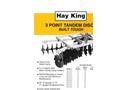 Hay King - Model DM 1616 - 3-Point Disc Harrows