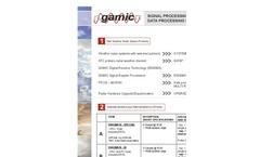 GAMIC - Model GMWR-25-SP - Mini Weather Radar Brochure