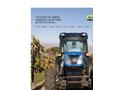 New Holland - T4F Series - Narrow Tractors - Brochure