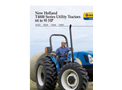 New Holland - T4000 Series - Tractors - Brochure