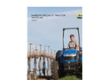 New Holland - TD4040F - Narrow Specialty Tractor - Brochure