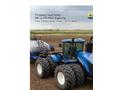 New Holland - Model T9 Series 4WD – Tier 4B - Tractors Brochure