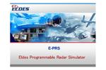 Eldes - E-PRS/GRS - Radar Simulators Software Persentation