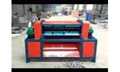 Whirlston Air Conditioner Refrigerator Radiator Recycling Machine Video