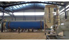 Biomass Wood Sawdust Dryer in Biomass Pellet Production Plant