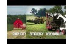 Kuhns Mfg Hay Accumulator System Video