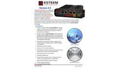 ESTeem - Model Horizon 4.9 - Wireless Device - Datasheet
