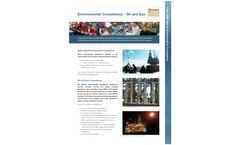 Environmental Consultancy - Oil and Gas Brochure