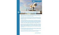 MetaSensing - Model QX-120 - Quad-pol FMCW - Weather Radar - Datasheet