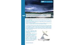 MetaSensing - Model QXP-120P - Portable Quad-Pol Weather Radar - Datasheet