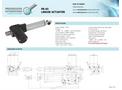 Model PA-03 - Linear Electric Actuator - Brochure