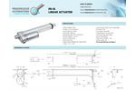 ActuatorZone - Model PA-09 - Industrial Linear Electric Actuators - Brochure
