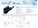 Model PA-17 - Heavy Duty Linear Actuators - Brochure