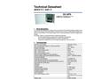 Akkutec - Model 2401-1C - Accumulator Buffered DC Supply Cabinet Brochure