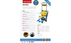 Evac+Chair - Model 900H Power - Lithium-Ion Battery Operated, Motorised Evacuation Chair - Datasheet