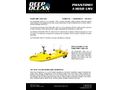 Phantom - Model I-1650 USV - Remote-Controlled Boat Brochure