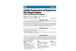 Avoiding Pharmaceutical and Biopharmaceutical Data Integrity Problems- Brochure