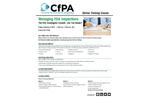 Managing FDA Inspections Training Brochure