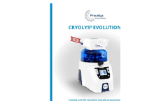 Cryolys Evolution - Cooling System for Sensitive Sample Preparation - Brochure