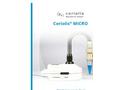 Coriolis - Model Micro - Microbial Air Sampler for Air Bio-Contamination Control - Brochure