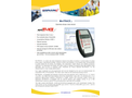 MiniTRACE Gamma - Model S10S & S100S - Portable Survey Meter Device - Brochure