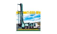 Model T-690-W - Water Well Drills