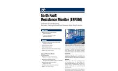 Accumetrics - Model AT-8000 - Earth Fault Resistance Monitor - Brochure