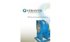 FRP Fans for Corrosive Air Handling Brochure
