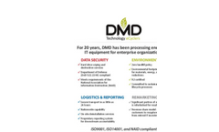 DMD eCycling Capabilities