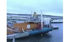 AlphaBoats MC202 Trash Skimmer / Collector Boat Video