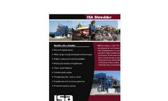 Shredder Brochure