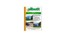 Albutt - Model BF - Bag Filling Buckets Brochure
