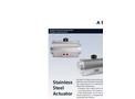 KSB Amri - Model A Series - Stainless Steel Actuators - Brochure