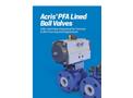 Amresist Acris PFA Lined Ball Valve Brochure