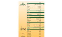 ArmaTrac Orchard - Model 802.4 - 804.4 FG - Fruit Garden Tractor Brochure