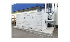 Genano - Model VOC Series - Volatile Organic Compounds (VOC) Gas Abatement Systems - Catalytic Oxidizers