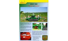 Samco - Model 4800 - Drill Machine - Brochure