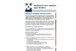 Model 04.23.SA - Sediment Core Sampler Type Beeker, Standard - Brochure