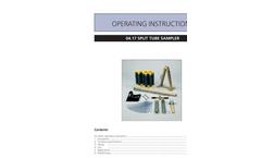 Split Tube Sampler Manual