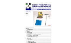 Eijkelkamp - EC-Probe for Soil Conductivity Measurements - Manual