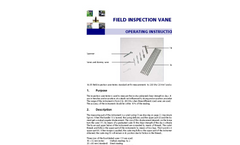 Field Inspection Vane Tester - Manual